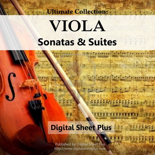 Pay for Huge Viola Sonatas & Suites Sheet Music Collection