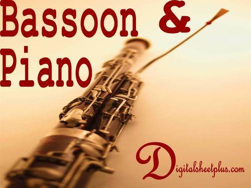 Pay for Bassoon and Piano Sheet Music Downloads Collection
