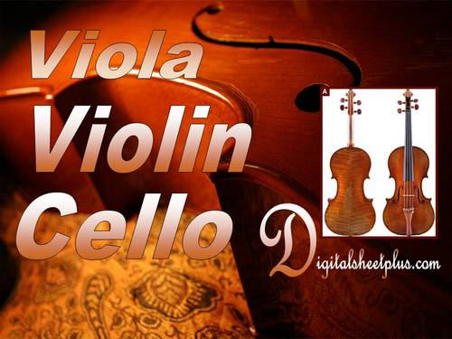 Pay for Viola  Violin and Cello Sheet Music Collection