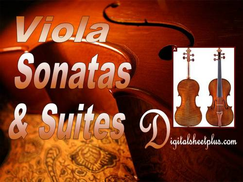 Pay for Viola Sonatas and Suites Sheet music collection (Downloads)