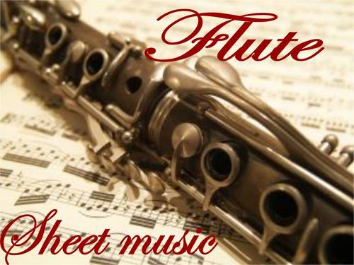 Pay for HUGE!!! Complete FLUTE SHEET MUSIC Collection