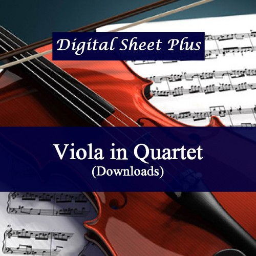 Pay for Viola in Quartet Sheet Music Collection