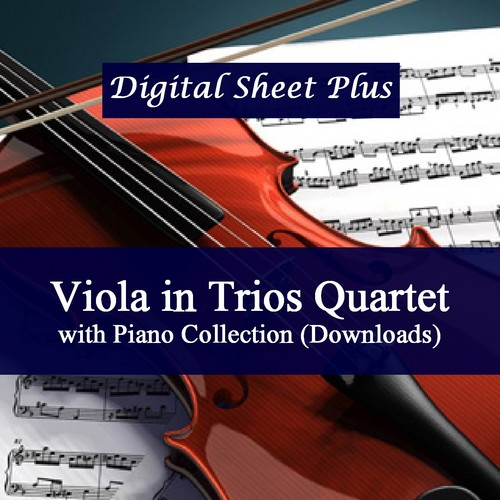 Pay for Viola in Trio or Quartet with Piano Sheet Music Collection