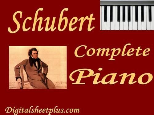 Pay for Schubert Piano Partituras Collection en formato pdf