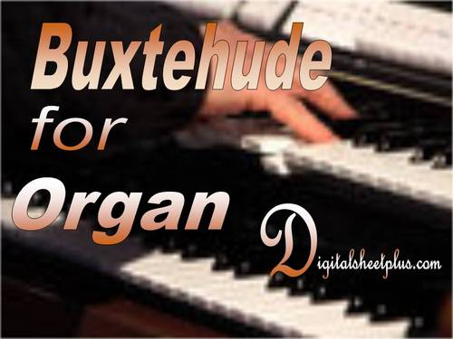 Pay for BUXTEHUDE for Organ sheet music