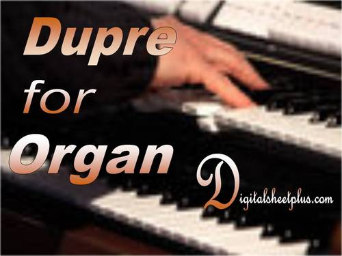 Pay for Dupre Organ Sheet Music