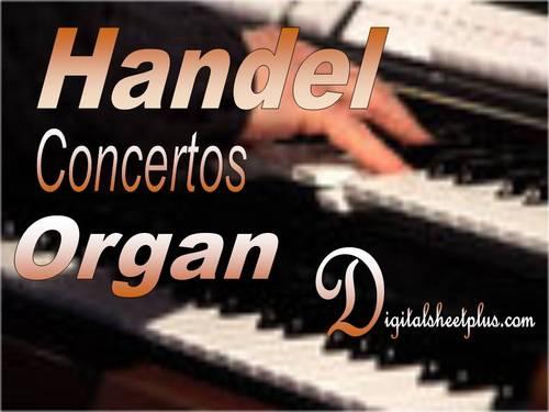 Pay for HANDEL ORGAN CONCERTOS sheet music