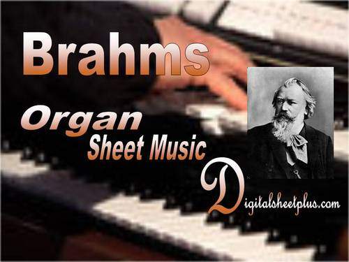 Pay for  Brahms - 11 Chorale Preludes  Op 122 for Organ sheet music