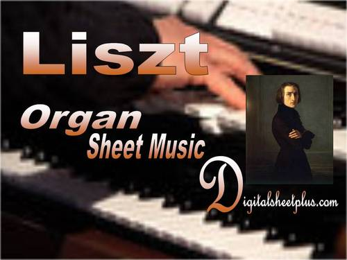 Pay for Liszt - Fantasy and Fugue on Bach for ORGAN sheet music