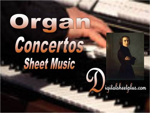 Pay for Organ Concertos Sheet Music Collection in pdf format