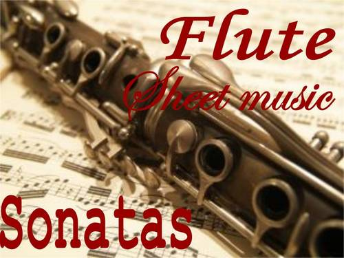 Pay for Flute Sonatas sheet music collection
