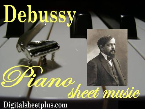 Pay for Debussy Piano Partituras Collection