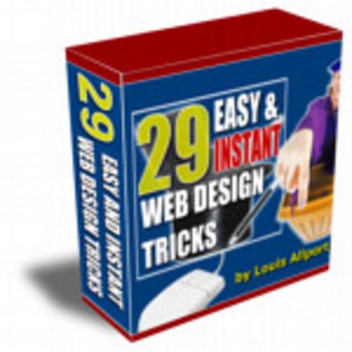 Pay for 29 Easy & Instant Web Design Tricks Volume 1