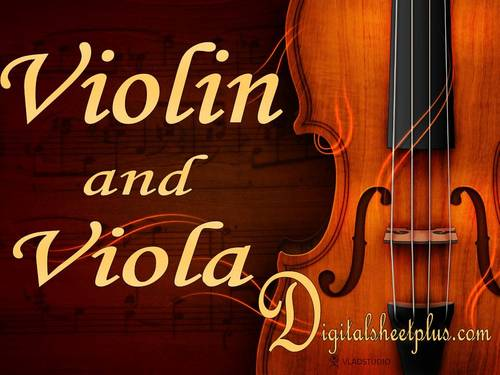 Pay for VIOLIN and VIOLA sheet music collection in pdf format