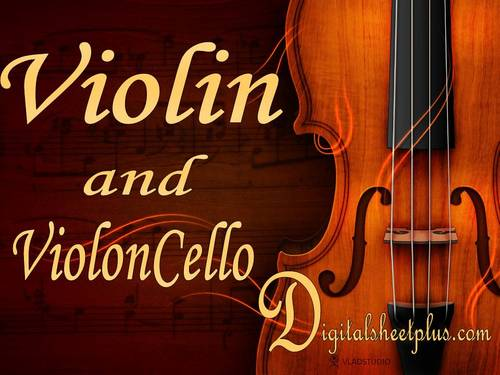 Pay for VIOLIN and CELLO sheet music in pdf format collection