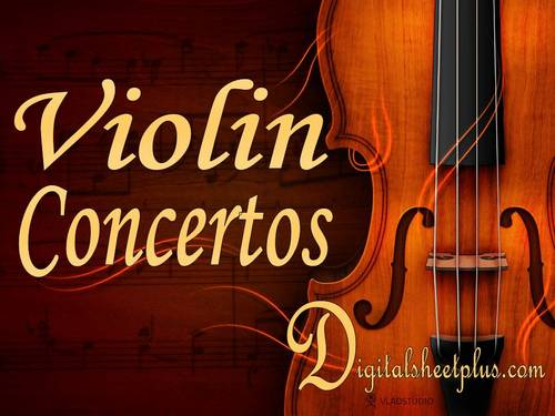 Pay for VIOLIN CONCERTOS sheet music in pdf format collection 217 files