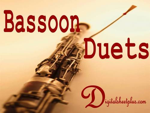 Pay for BASSOON DUETS Sheet Music Collection in pdf format