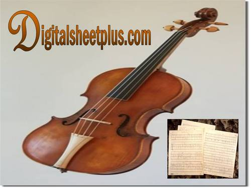 Pay for HUGE!!! Solo VIOLA sheet music collection