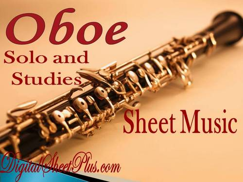 Pay for Oboe Solo and Studies partituras collection