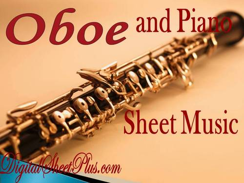 Pay for Oboe and Piano partituras collection en formato pdf