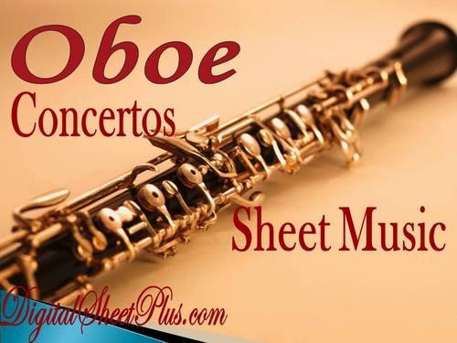 Pay for Oboe Concertos partituras en formato pdf