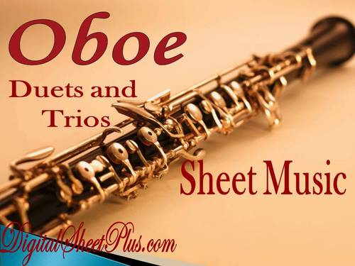 Pay for Oboe Duets and Trios Sheet Music Collection in pdf format