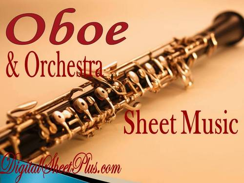 Pay for Oboe and Orchestra Sheet Music Collection in pdf format