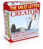 Thumbnail The Sales Letter Creator