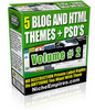 Thumbnail 5 Blog And HTML Themes Volume #2