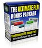 Thumbnail The Ultimate PLR Bonus Package