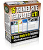 Thumbnail 15 Themed Site Templates Volume #11