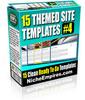 Thumbnail 15 Themed Site Templates Volume #4