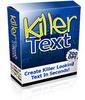 Thumbnail Killer Text Package