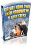 Thumbnail Create Your Own Info Product In 5 Easy Steps