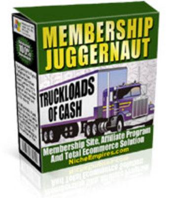 Pay for Membership Juggernaut
