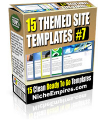 Pay for 15 Themed Site Templates Volume #7