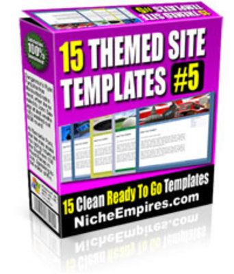 Pay for 15 Themed Site Templates Volume #5