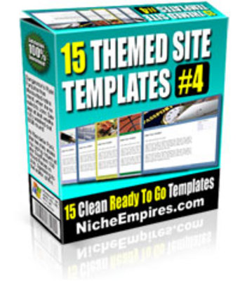Pay for 15 Themed Site Templates Volume #4