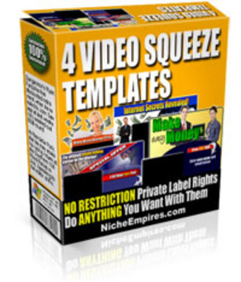 Pay for 4 Video Squeeze Templates