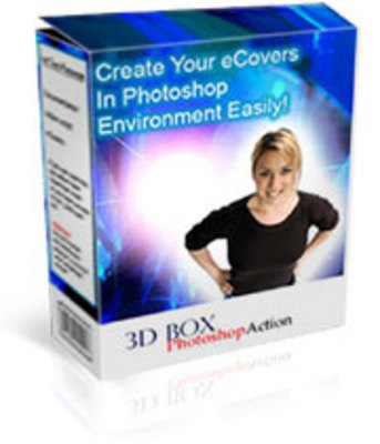 Pay for 3D Box Photoshop Action Scripts