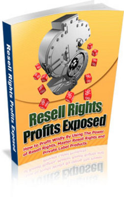 Pay for Resell Rights Profits Exposed
