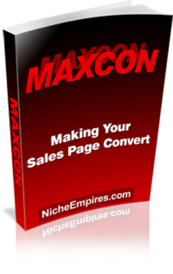 Pay for Making Your Sales Page Convert MAXCON