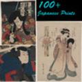 Thumbnail 100+ Japanese Vintage Prints on Woodblock