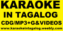 Thumbnail Karaoke in Tagalog - CDG MP3+G Videos Music Songs OPM Online