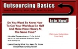 Thumbnail Outsourcing Basics PLR Newsletter