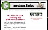 Thumbnail Investment Basics PLR Newsletter
