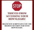 Thumbnail Download Protection Script - PLR