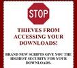 Thumbnail Download Protection Script - PLR