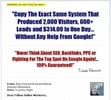Thumbnail Screw Google Cash System (103MB) Video Course