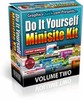 Thumbnail Do It Yourself Minisite Kit VOLUME 2 Personal Use